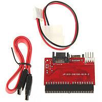Переходник SATA IDE 100/133 адаптер двусторонний