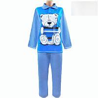 Молодёжная тёплая пижама с мишкой с 40 по 62 размер