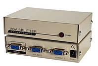 Сплиттер (Коммутатор) VGA KV-FJ1502A 150MHz 2 Port