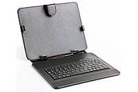 "Обложка-чехол для планшета 9.7"" с USB клавиатурой HQ-Tech LH-SKB0901U, microUSB"