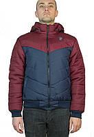 Мужская куртка осень-весна  на манжете,на синтепоне размер 46-52,с отстегивающем капюшоном