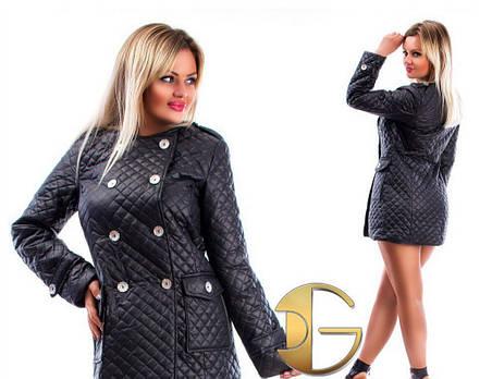 Стеганное пальто, фото 2