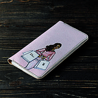 Портмоне v.2.0. Fisher Gifts 164 Девушка VOGUE 16 (эко-кожа), фото 1