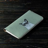 Портмоне v.2.0. Fisher Gifts 191 Унылый кот (эко-кожа), фото 1