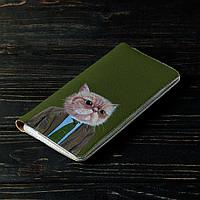 Портмоне v.2.0. Fisher Gifts 597 Кот директор (эко-кожа), фото 1