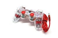 Геймпад проводной для ПК K-800 USB 2.0 Mono Shock (RED)