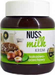 Шоколадно - горіхова паста Nuss Milk (зелена) 400 г.
