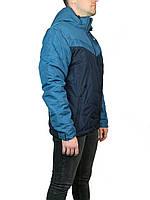 Мужская куртка осень-весна  прямые,на синтепоне размер 46-52,с отстегивающем капюшоном