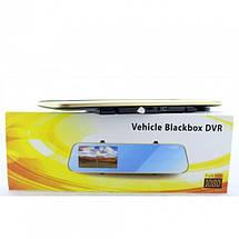 Зеркало заднего вида с регистратором на 2 камеры DVR DV460, фото 3
