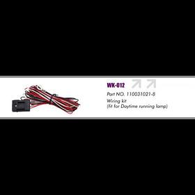 Провода питания  для доп. фар/ WK-012/2x55W/для DRL (WK-012)