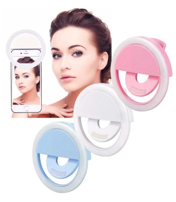 Селфи-лампа Led кольцо на телефон Selfie Ring Light XJ-01 вспышка