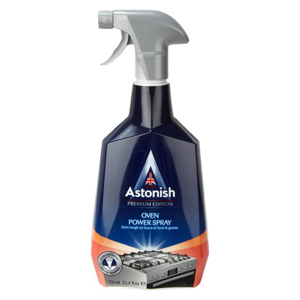 Потужний очищувач духових шаф, плит, грилів Astonish Oven Power Spray 750 мл.