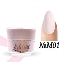 Milk Rubber Cover Base Lukum Nails M01 5 ml