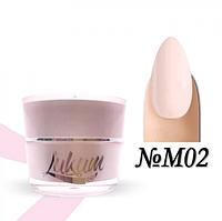 Milk Rubber Cover Base  Lukum Nails M02 5 ml