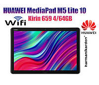 Планшет HUAWEI MediaPad M5 Lite 10 4/64GB Wi-Fi Space Grey