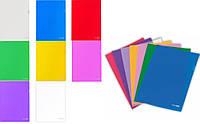 Папка Куточок канцелярський A4 щільний, E31153-00 кольоровий прозорий 180мк уп10
