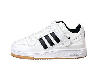 """Мужские кроссовки Adidas Forum """"White"""" (копия)"""
