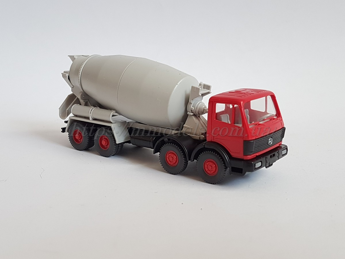 Wiking 68124 масштабная модель бетонного миксера  Mercedes-Benz, масштаба 1/87,H0