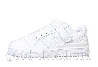 "Мужские кроссовки Adidas Forum All ""White"" (копия)"