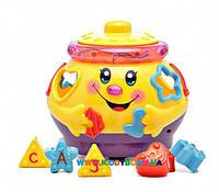 Развивающая игрушка сортер Музыкальный горшочек Play Smart 0915