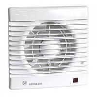 Бытовой вытяжной вентилятор S&P DECOR-200 C
