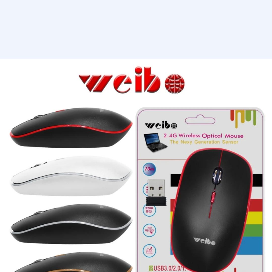 USB Мышка беспроводная weibo RF-4100B