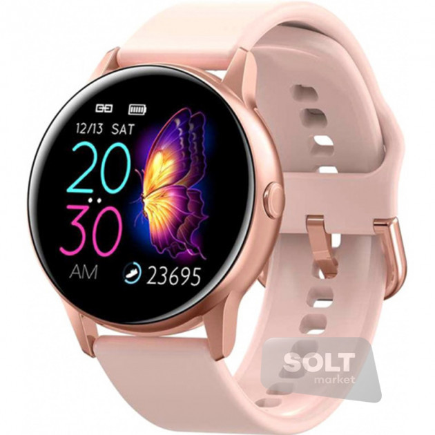 Умные часы с пульсометром и цветным IPS дисплеем Unit Watch DT88 PRO Bluetooth, (ЦВЕТ ТОЛЬКО ЧЕРНЫЕ)