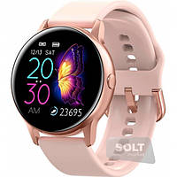 Умные часы с пульсометром и цветным IPS дисплеем Unit Watch DT88 PRO Bluetooth, (ЦВЕТ ТОЛЬКО ЧЕРНЫЕ), фото 1