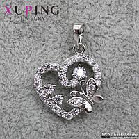 Кулон женский Сердце Xuping Jewelry (позолота) - 1113816242