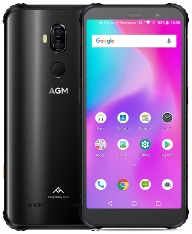 AGM X3 8/64 Gb black, NFC