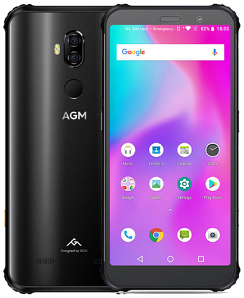 AGM X3 8/64 Gb black, NFC, фото 2