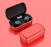 Беспроводные Bluetooth наушники HeadSet S8 TWS с кейсом Power Bank
