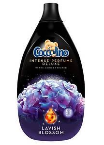 Концентрований ополіскувач тканин преміум класа Coccolino Deluxe Lavish Blossom 870 ml.
