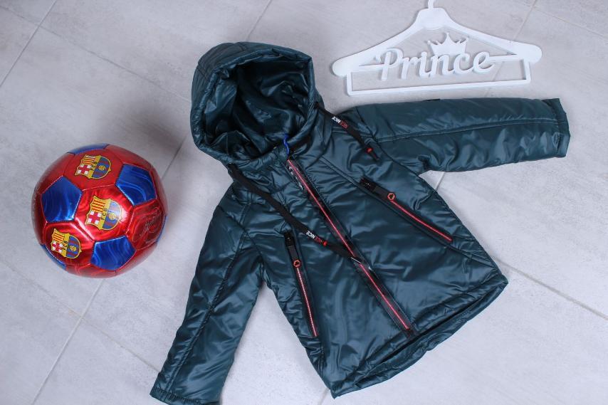 Куртка дитяча для хлопчика р. 74-98 опт