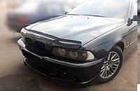 Мухобойка +на капот  BMW 5 серии (39 кузов) с 1995-2003 г.в. (БМВ 5) Vip Tuning