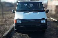 Дефлектор +на капот   FORD Transit c 1986-1991 г.в. (Форд Транзит) Vip Tuning