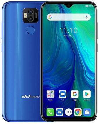 UleFone Power 6 4/64 Gb blue, NFC, фото 2