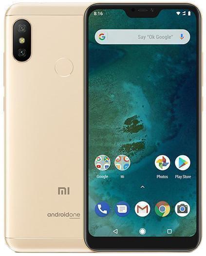 Мобильный телефон Xiaomi Mi A2 Lite 4/64GB Gold (Международная версия)