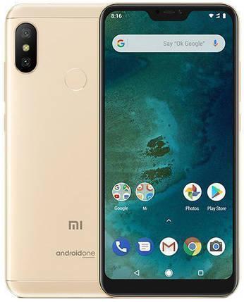 Мобильный телефон Xiaomi Mi A2 Lite 4/64GB Gold (Международная версия), фото 2