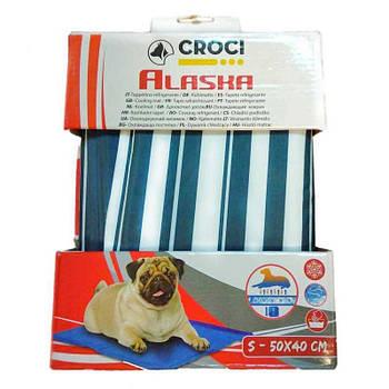 Охлаждающий коврик для собак, Синяя полоска, 90х50см, Croci