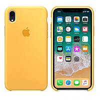 Чехол Apple Silicone Case iPhone XR Lemonade
