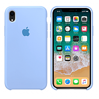 Чехол Apple Silicone Case iPhone XR Sky blue
