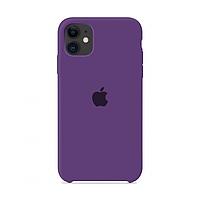 Чехол Apple Silicone Case iPhone 11 Purple