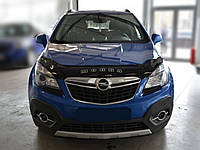 Дефлектор капота Opel Mokka с 2012 г.в. (Опель Мокка) Vip Tuning