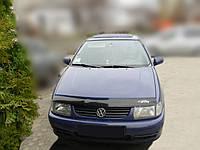 Мухобойка  VW Polo 3 с 1994 – 1999 г.в / Variant,Classic с 1995-2001 г.в.  (Фольксваген Поло) Vip Tuning