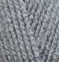 Пряжа для вязания Бургум классик ALIZE серый 253
