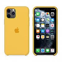 Чехол Apple Silicone Case iPhone 11 Pro Lemonade