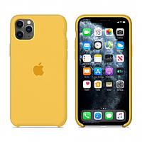 Чехол Apple Silicone Case iPhone 11 Pro Max Lemonade