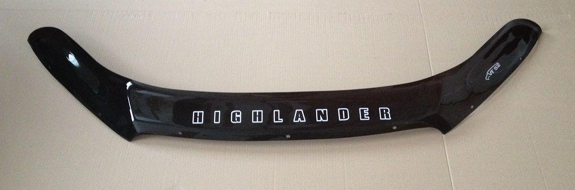 Мухобойка TOYOTA Highlander c 2013 г.в. Vip Tuning