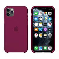 Чехол Apple Silicone Case iPhone 11 Pro Max Rose Red